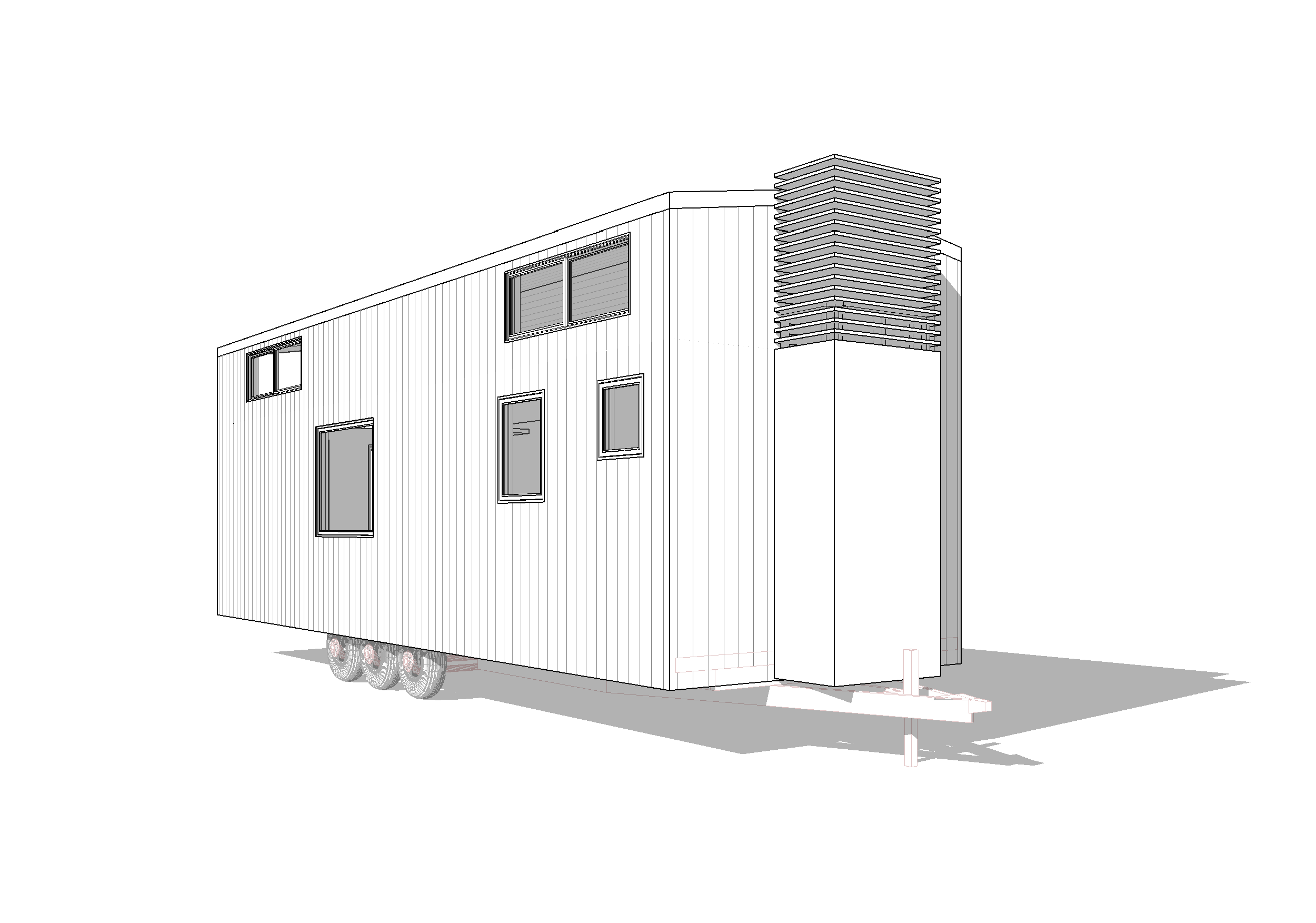 30ft Loft Modern Toccoa