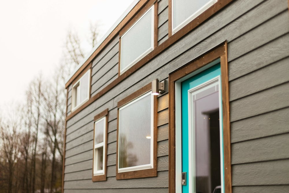 LP SmartSide siding, cedar trim with stainless fastners
