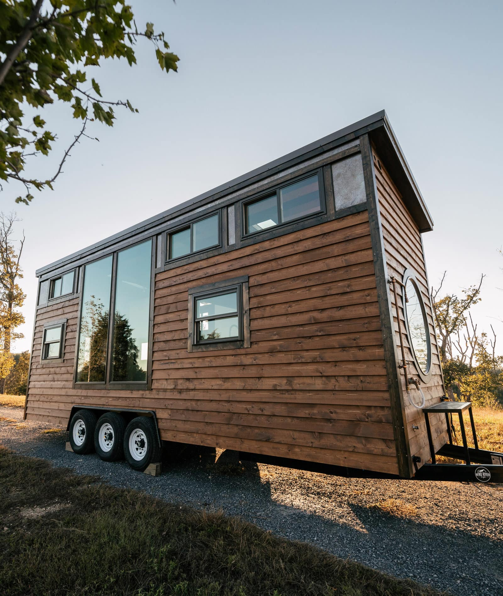 Wind River Tiny Homes - the Silhouette