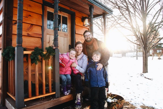 Tiny Home Builders—Tiny Living with a Family