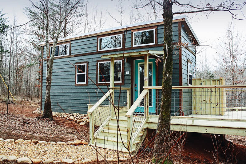 Setting Up Your Tiny Home - Skirting 1